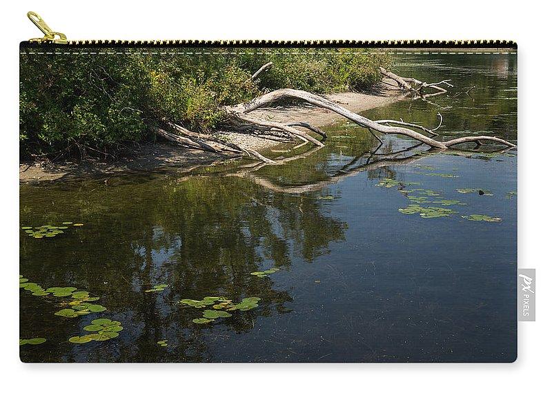 Toronto Islands Carry-all Pouch featuring the photograph Toronto Islands Slow Cruising  by Georgia Mizuleva