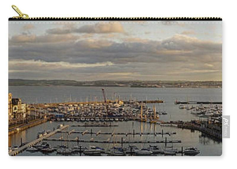 Nag004062 Carry-all Pouch featuring the photograph Torquay Panorama by Edmund Nagele