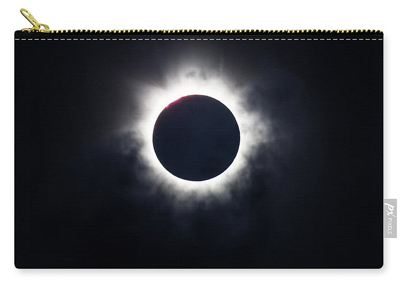 Awe Carry-all Pouch featuring the photograph Totality by Silken Photography