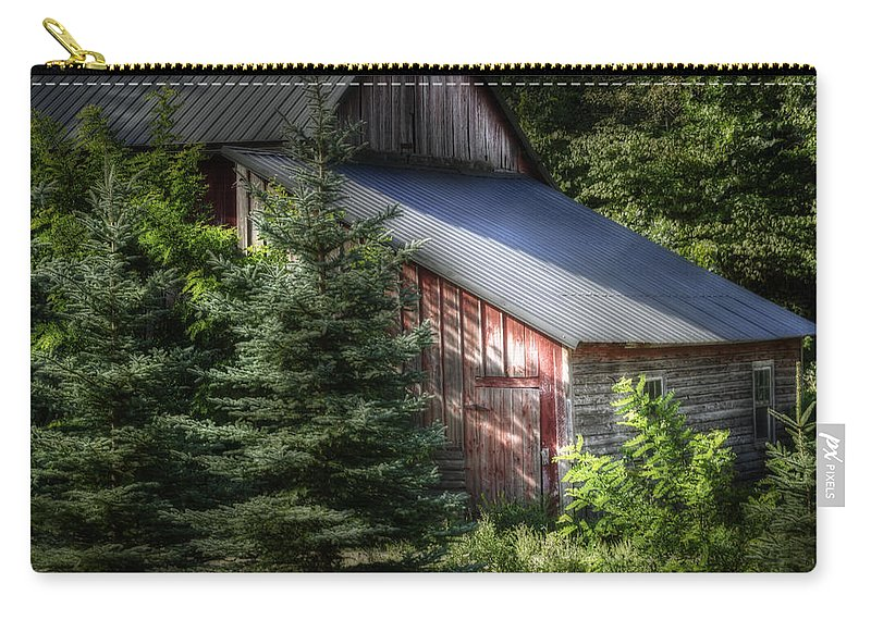 Agricultural Carry-all Pouch featuring the photograph Touched By The Sun by Joan Carroll