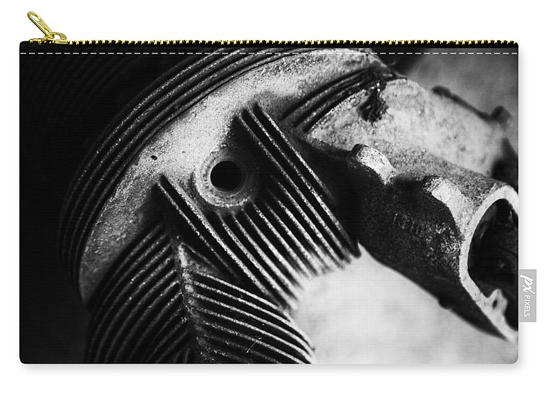 Engine Carry-all Pouch featuring the photograph Tough Enough by Karol Livote