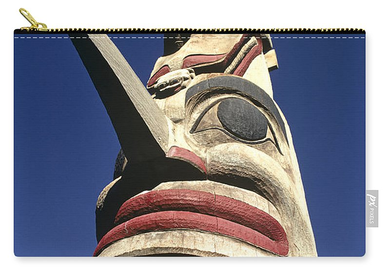 Americas Carry-all Pouch featuring the photograph Towering Totem by Roderick Bley