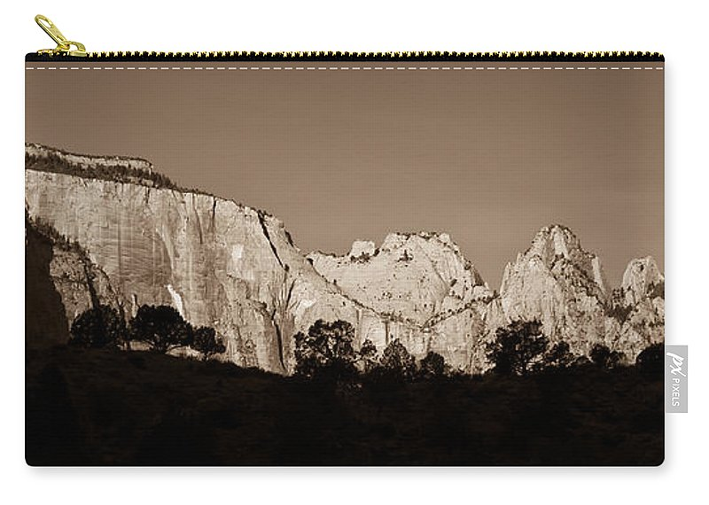 3scape Photos Carry-all Pouch featuring the photograph Towers Of The Virgin by Adam Romanowicz