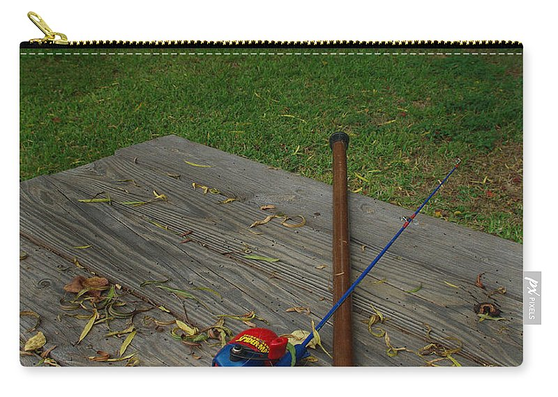 Angling Carry-all Pouch featuring the photograph Traditions Of Yesterday by Peter Piatt