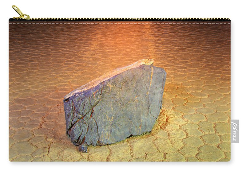 Racetrack Carry-all Pouch featuring the photograph Trail Of Mystery by Bob Christopher