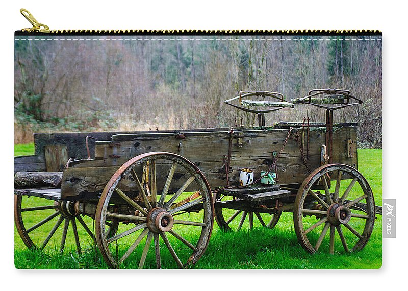 Trailer Carry-all Pouch featuring the photograph Trailer For Sale Or Rent Unframed by Tikvah's Hope