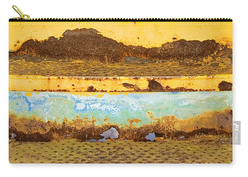 Elkhart Carry-all Pouch featuring the photograph Train Art by Gary Richards