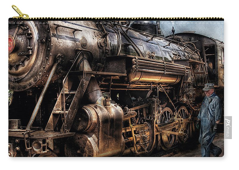 Train Engine For Sale >> Train Engine Now Boarding Carry All Pouch For Sale By Mike Savad
