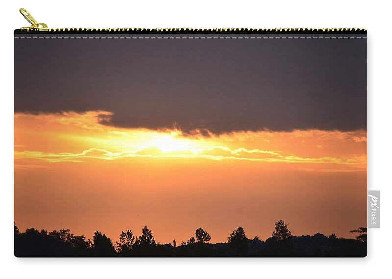 Tranquility 2013 Carry-all Pouch featuring the photograph Tranquility 2013 by Maria Urso