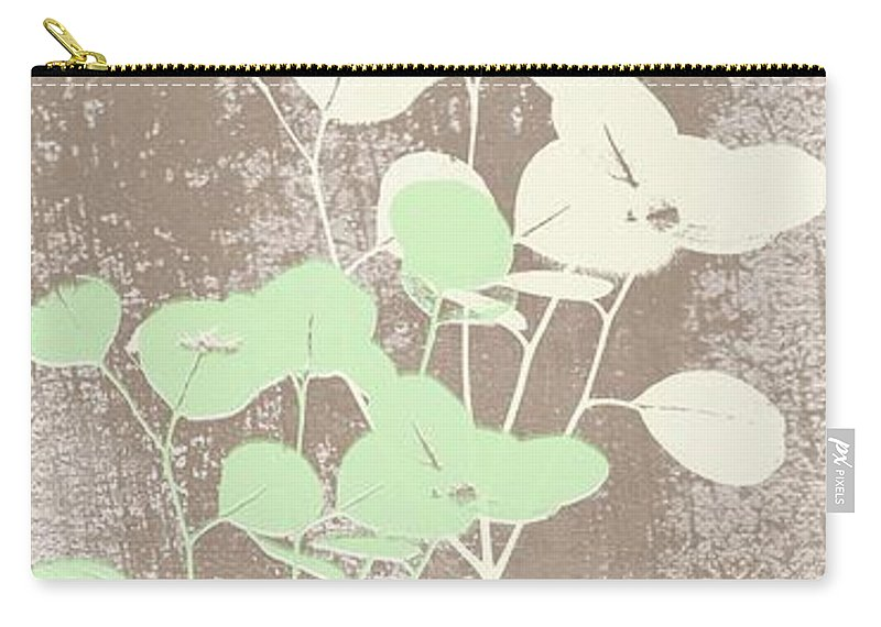 Tranquility Carry-all Pouch featuring the painting Tranquility by Linda Woods