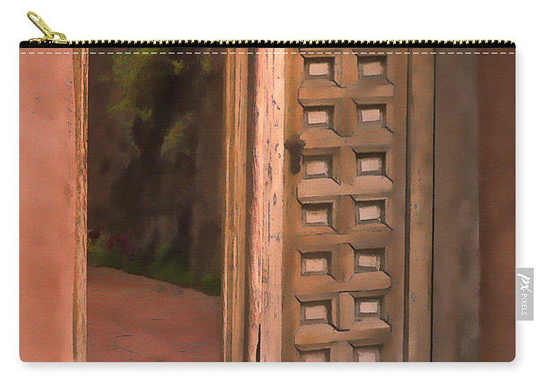 Southwest Carry-all Pouch featuring the photograph Tranquility by Sandra Bronstein