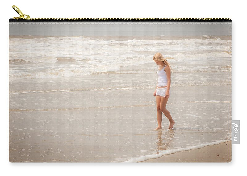 Landscape Carry-all Pouch featuring the photograph Tranquility by Sennie Pierson