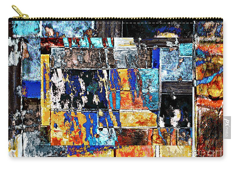 Digital Image Carry-all Pouch featuring the digital art Transformation by Yael VanGruber