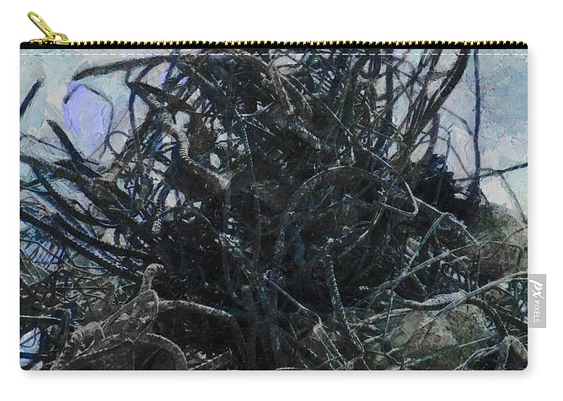 Transformer Carry-all Pouch featuring the photograph Transformers Unplugged by Steve Taylor