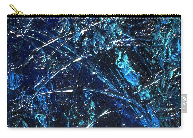 Abstract Carry-all Pouch featuring the painting Transitions I by Dean Triolo