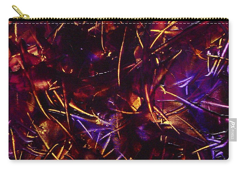 Abstract Carry-all Pouch featuring the painting Transitions X by Dean Triolo
