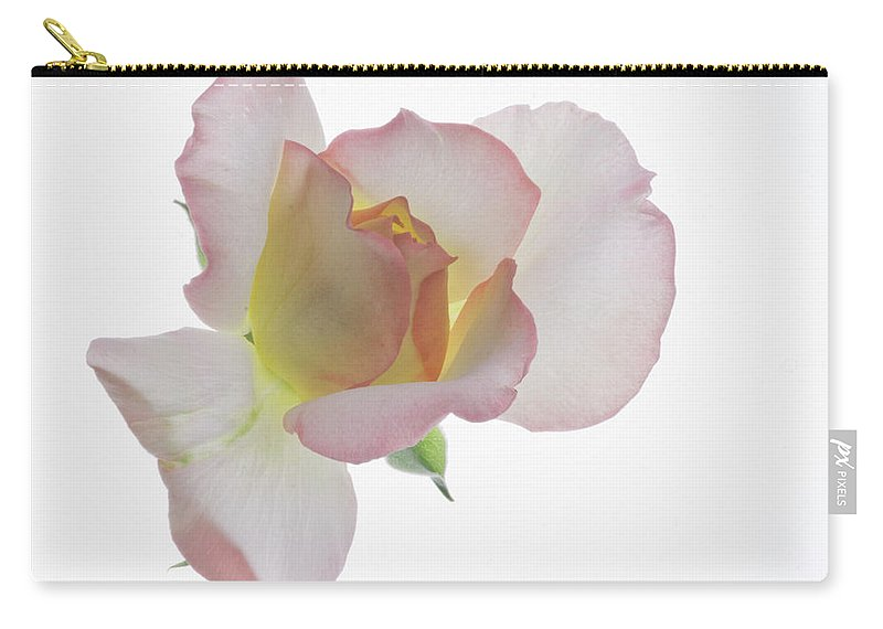 Rose Carry-all Pouch featuring the photograph Transparent Rose 2 by James Ekstrom