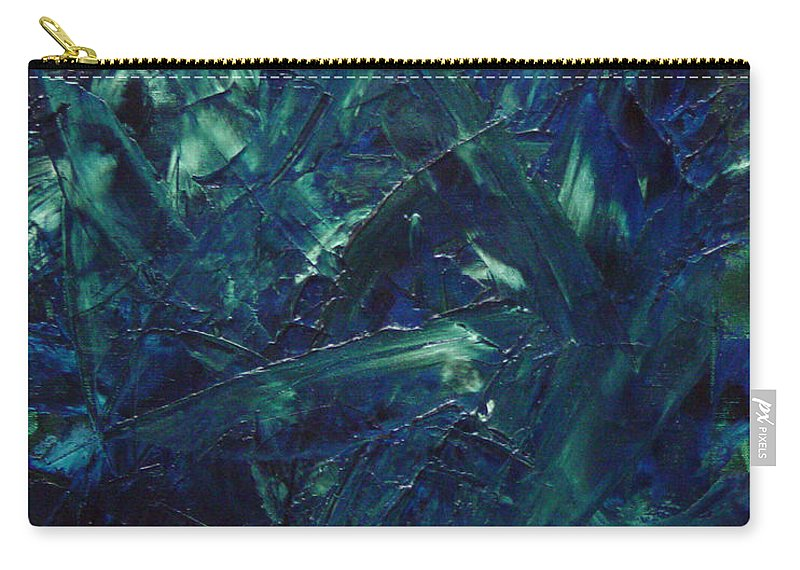 Abstract Carry-all Pouch featuring the painting Transtions Xi by Dean Triolo
