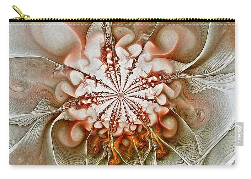 Digital Art Carry-all Pouch featuring the digital art Treasured by Amanda Moore