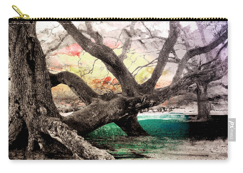 Trees Carry-all Pouch featuring the photograph Tree Series 01 by Carlos Diaz
