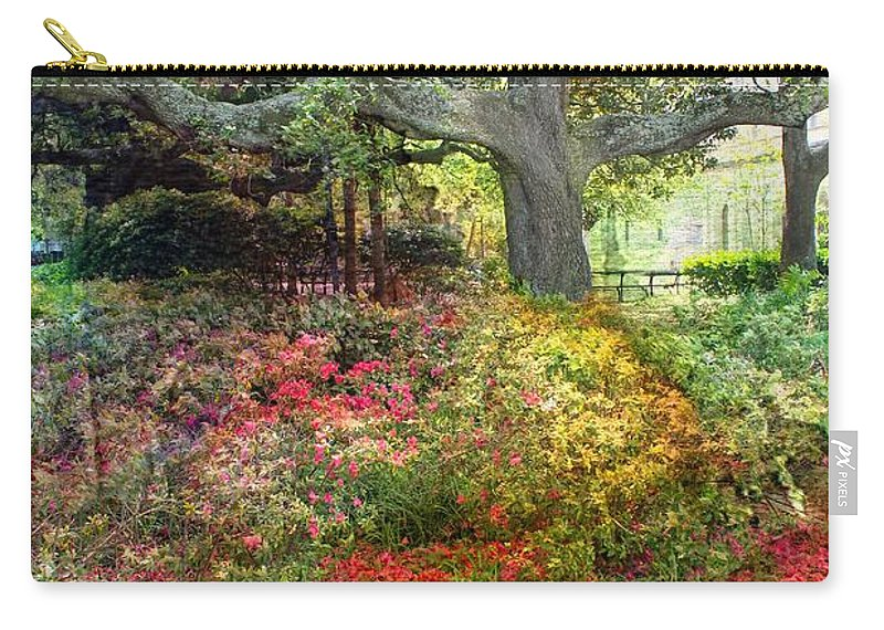 Trees Carry-all Pouch featuring the photograph Tree Series 47 by Carlos Diaz