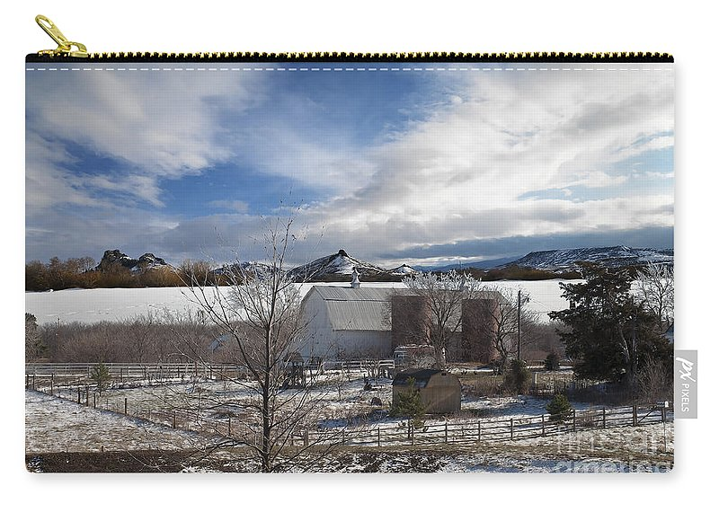 Country Carry-all Pouch featuring the photograph Trip To Baldwin City Kansas by Liane Wright