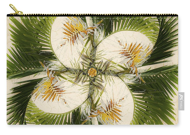 Tropical Carry-all Pouch featuring the photograph Tropical Design by Carol Leigh