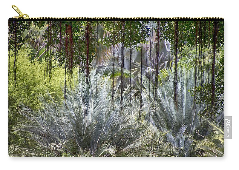 Tropical Forest Carry-all Pouch featuring the photograph Tropical Forest by Douglas Barnard