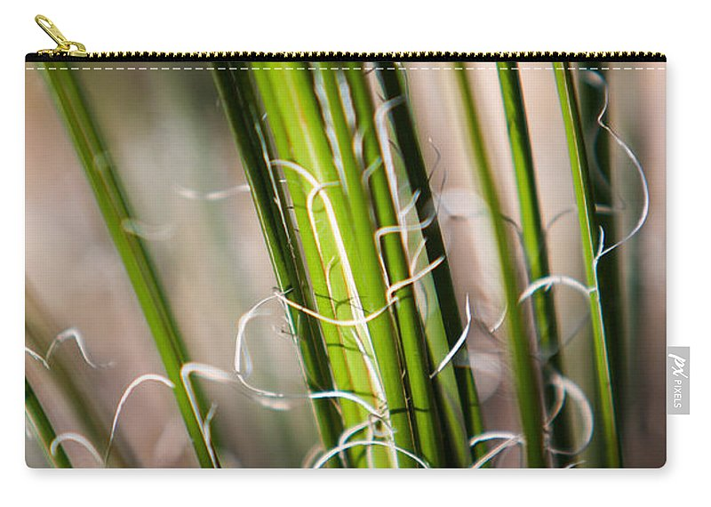 Botanical Carry-all Pouch featuring the photograph Tropical Grass by John Wadleigh