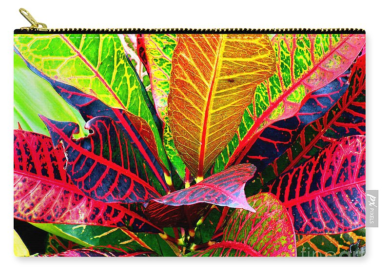 David Lawson Photography Carry-all Pouch featuring the photograph Tropicals Gone Wild Naturally by David Lawson
