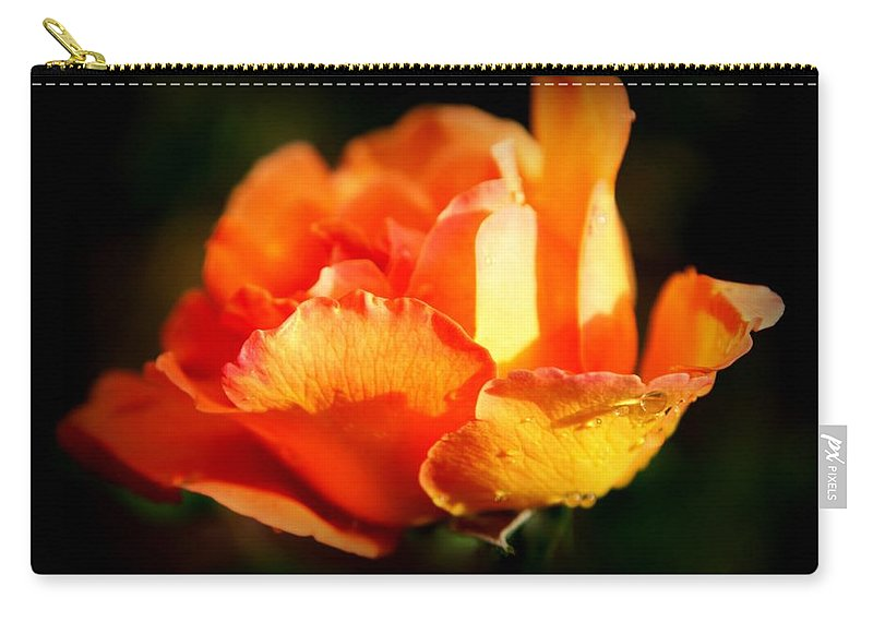 Tropicana Carry-all Pouch featuring the photograph Tropicana by Karen Wiles