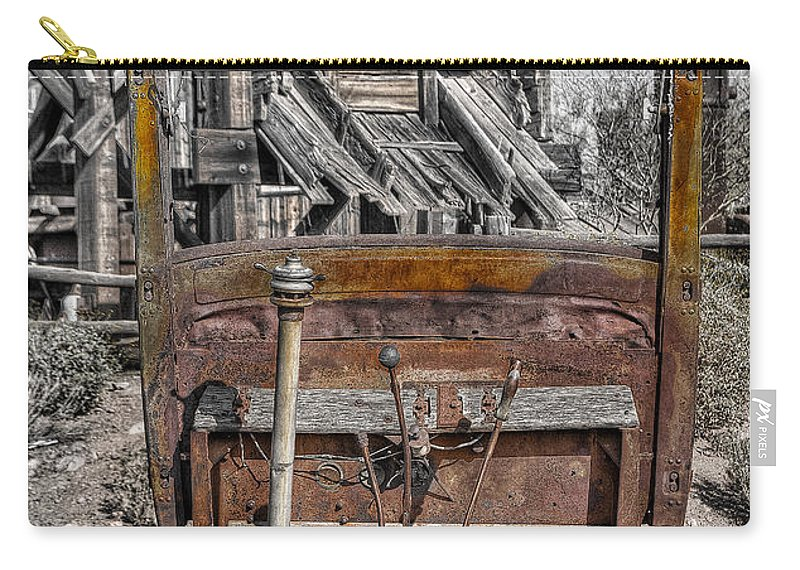 Truck Carry-all Pouch featuring the photograph Truck 3 by Larry White