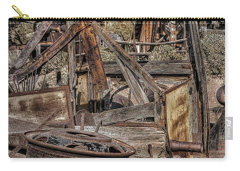 Truck Carry-all Pouch featuring the photograph Truck 5 by Larry White