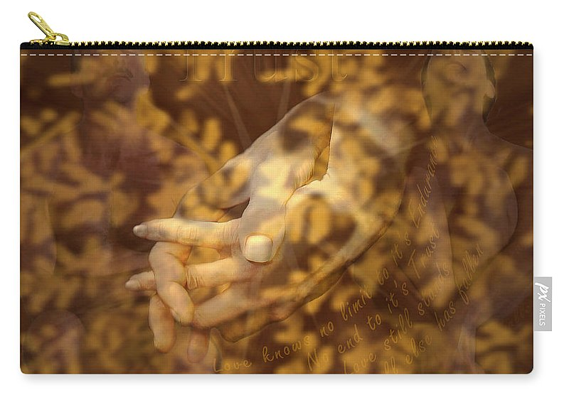 Nudes Carry-all Pouch featuring the photograph Trust by Kurt Van Wagner