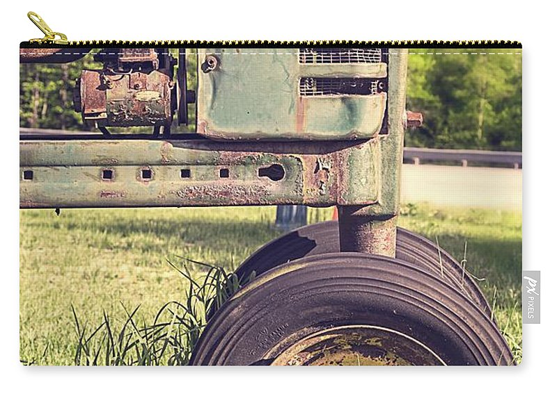 Quechee Carry-all Pouch featuring the photograph Trusty Old Workhorse by Edward Fielding