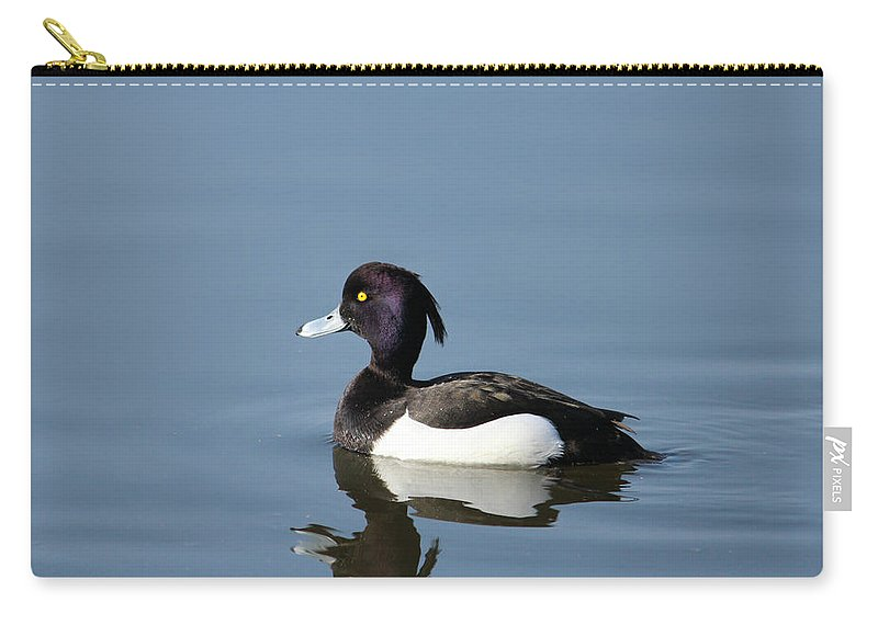 Movement Carry-all Pouch featuring the photograph Tufted by Heike Hultsch