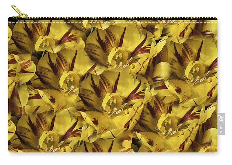 Tulip Carry-all Pouch featuring the photograph Tulip Duvet by Curtis Knight