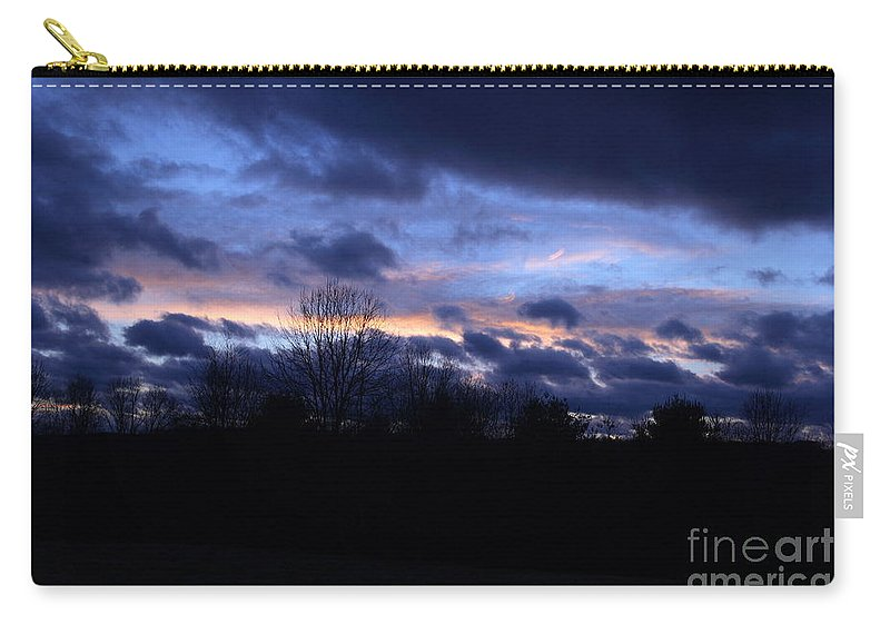 Sunset Photography Carry-all Pouch featuring the photograph Tungsten Blues by Neal Eslinger