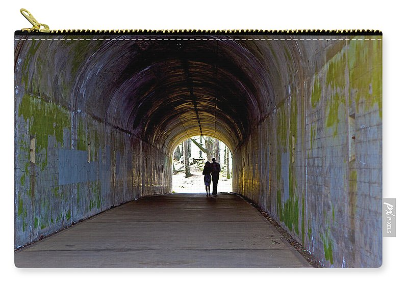 Tunnel Carry-all Pouch featuring the photograph Tunnel Of Love by SC Heffner