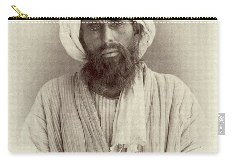 1865 Carry-all Pouch featuring the photograph Turkestan Dzhugi, C1865 by Granger
