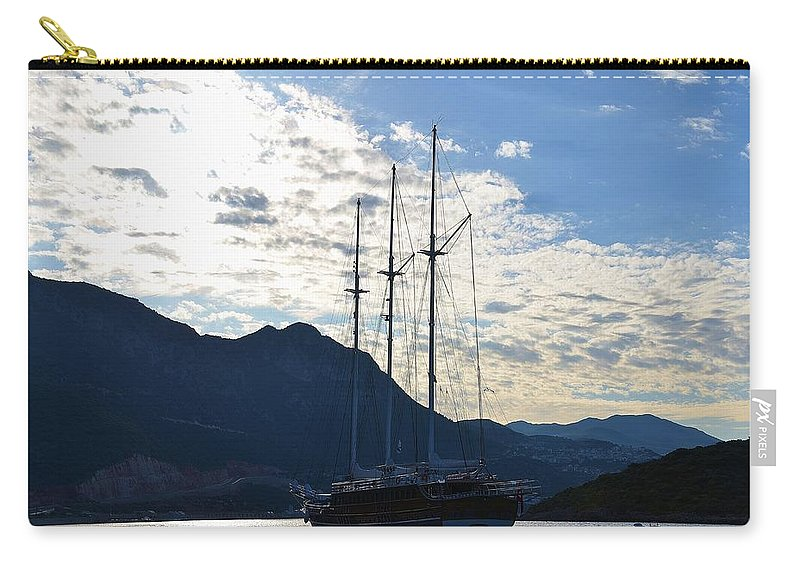 Carry-all Pouch featuring the photograph Turkish Dawn by Malcolm Snook