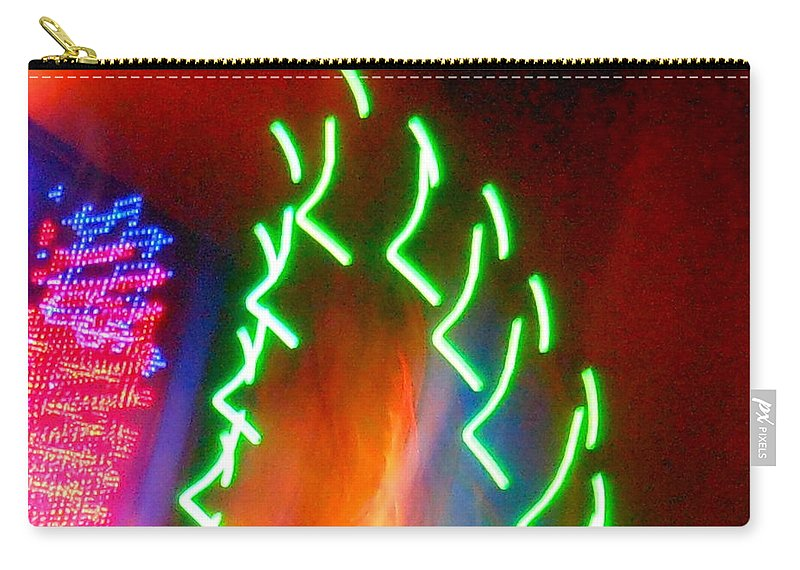Earth Carry-all Pouch featuring the photograph Turmoil On The Green Planet by James Welch
