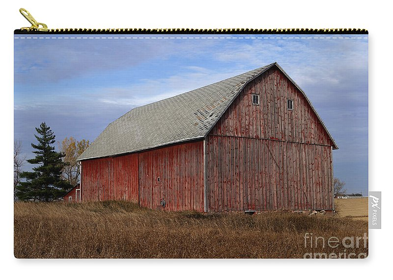 Farm Carry-all Pouch featuring the photograph Turn The Page by Lori Tordsen
