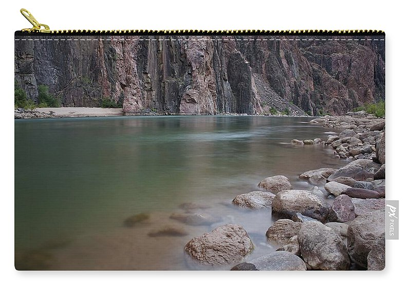 Grand Canyon Carry-all Pouch featuring the photograph Turquoise Colorado River by Brian Kamprath