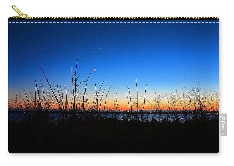 Rhode Island Carry-all Pouch featuring the photograph Twilight Moment by Lourry Legarde