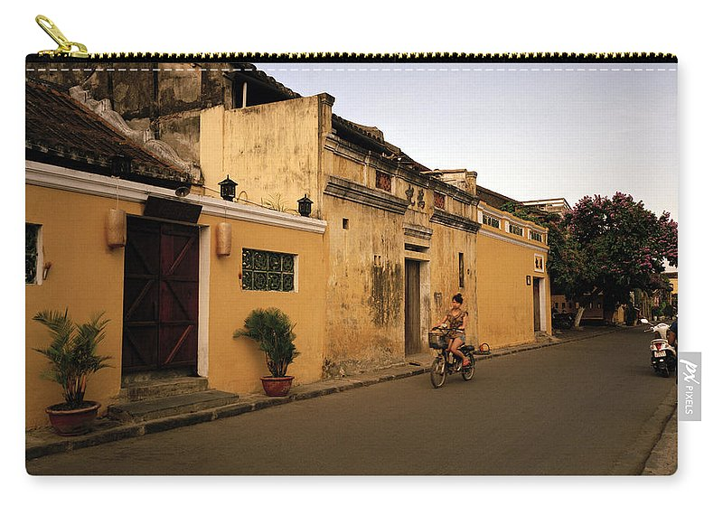 Hoi An Carry-all Pouch featuring the photograph Twilit Hoi An by Shaun Higson