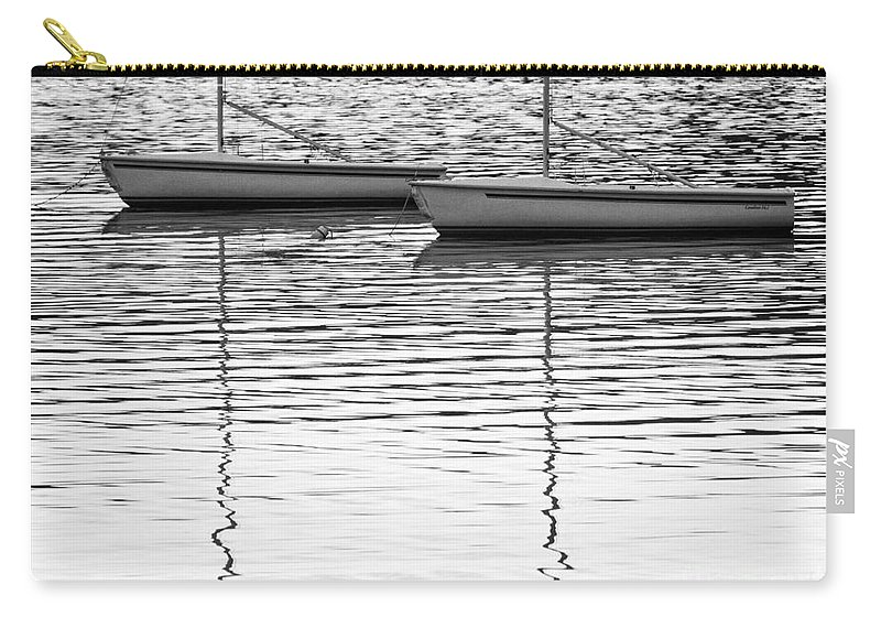 Sailboats Carry-all Pouch featuring the photograph Twins by Claudia Kuhn