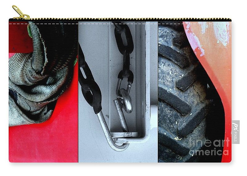 Marlene Burns Carry-all Pouch featuring the photograph Twisted Sisters by Marlene Burns
