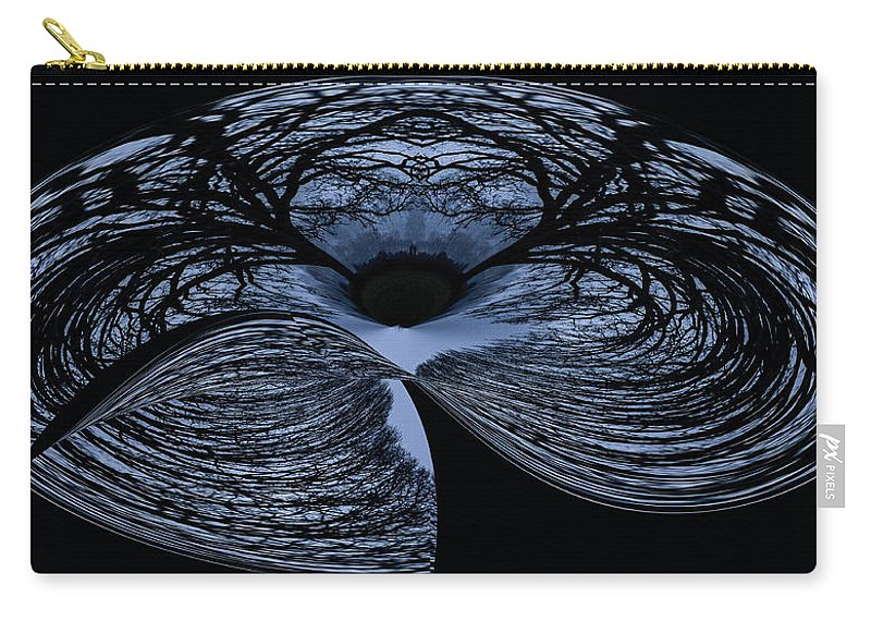 Abstract Carry-all Pouch featuring the photograph Twisted Tree by Jean Noren