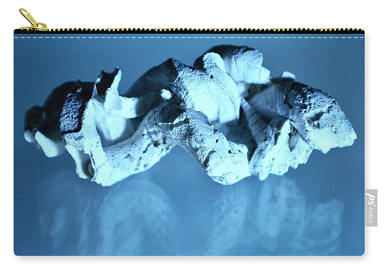 Original Photo Carry-all Pouch featuring the photograph Twisted Worm Shells by Sherry Allen